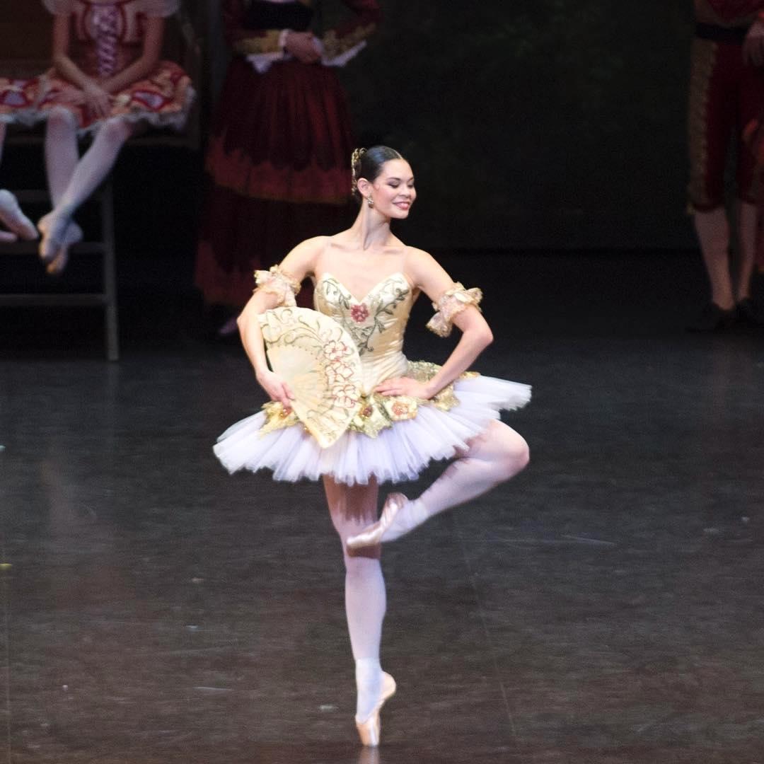 Alice Renavand Kitri dans Don Quichotte