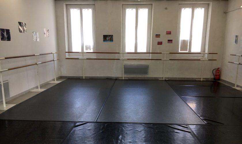 Studio de danse de l'école Nemausa