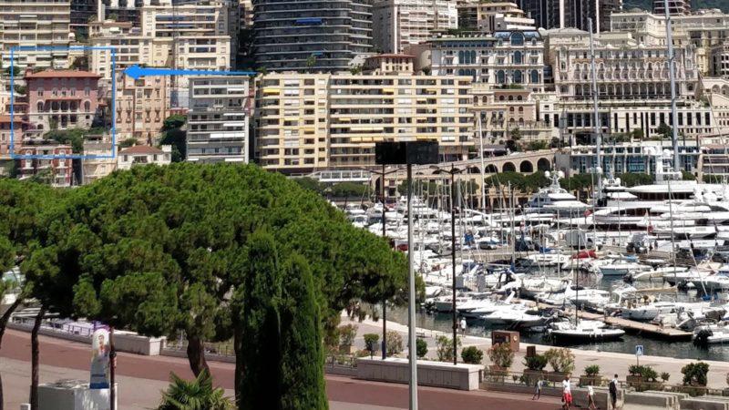 Académie Princesse Grace de Monaco vue du port