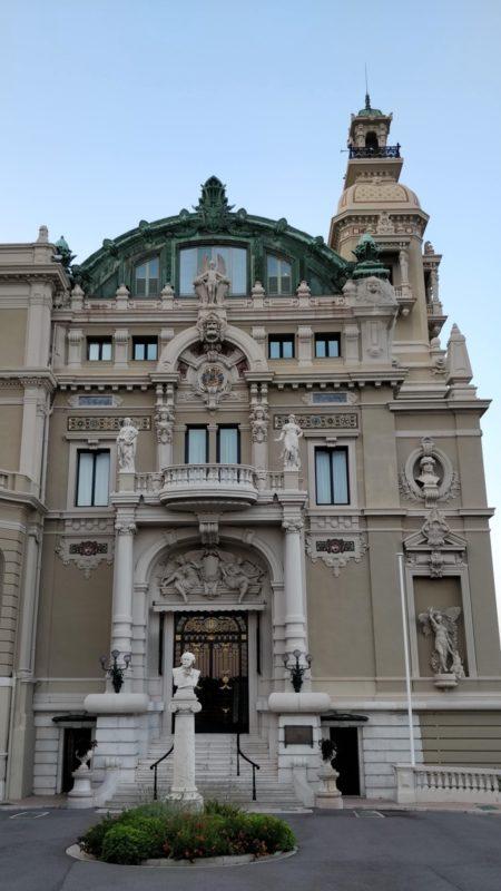 L'opéra Garnier à Monaco