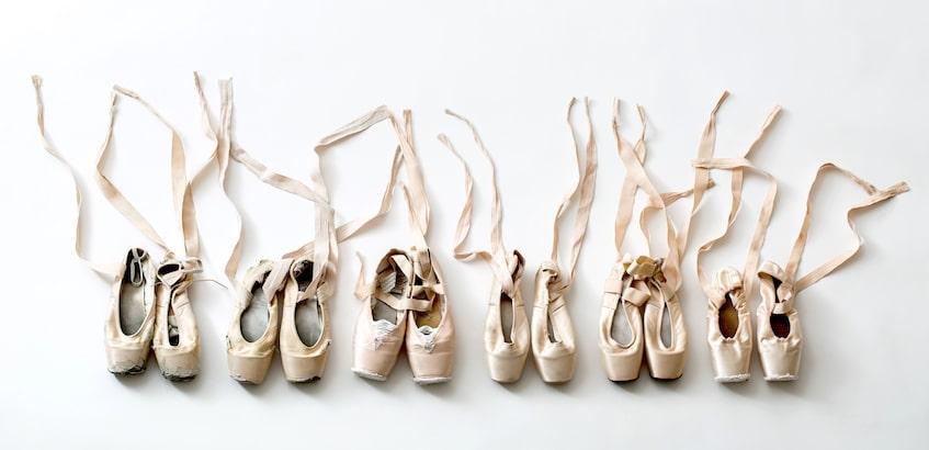 Cours de pointes (danse classique)