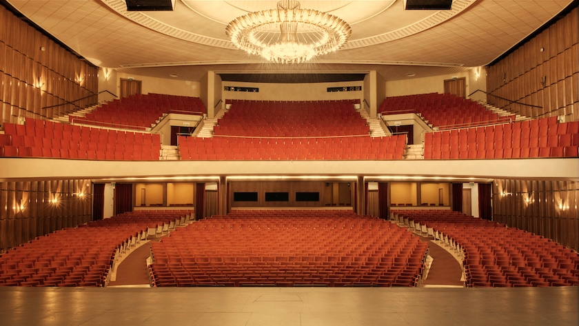 Salle du théâtre de Beaulieu