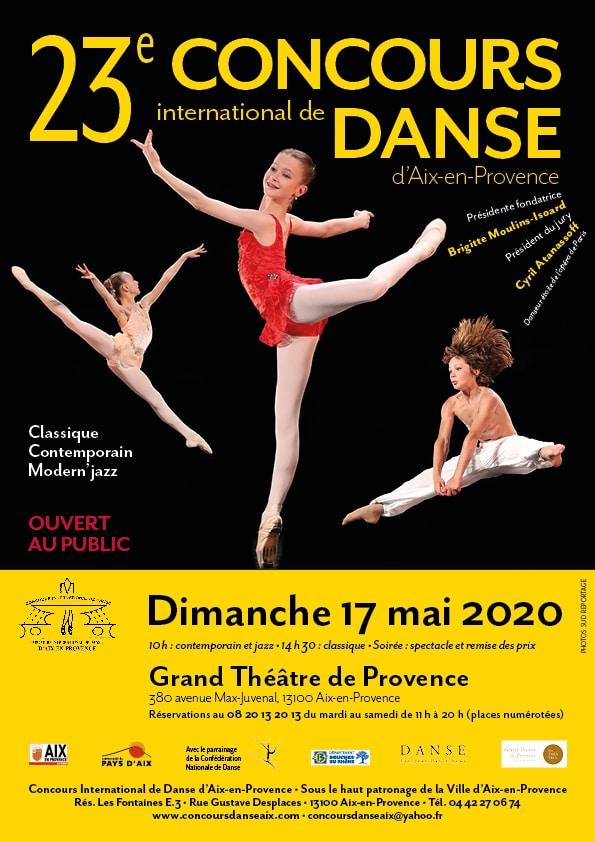 concours danse Aix 2020