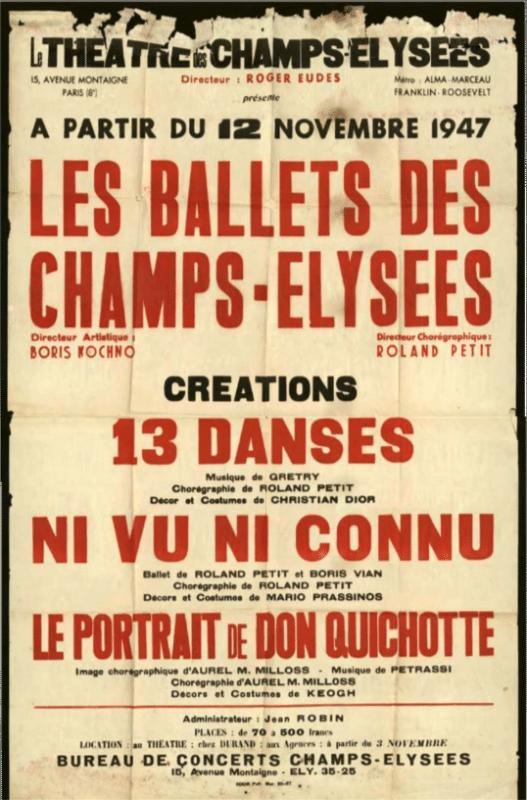 Ballets des Champs Elysées
