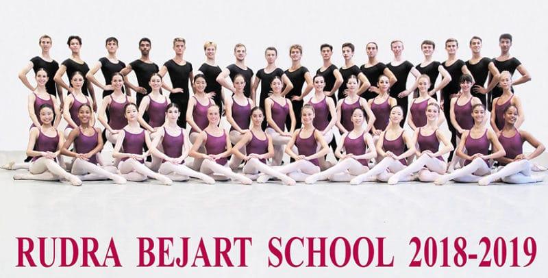 Ecole atelier Rudra Béjart classe 2018-2019