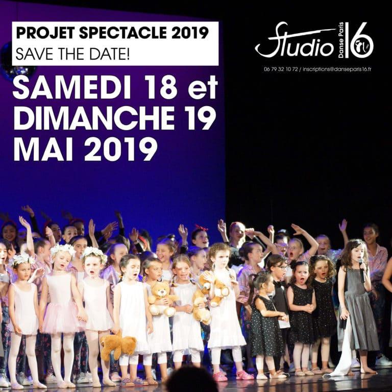 Spectacle 2019 Danse Paris 16