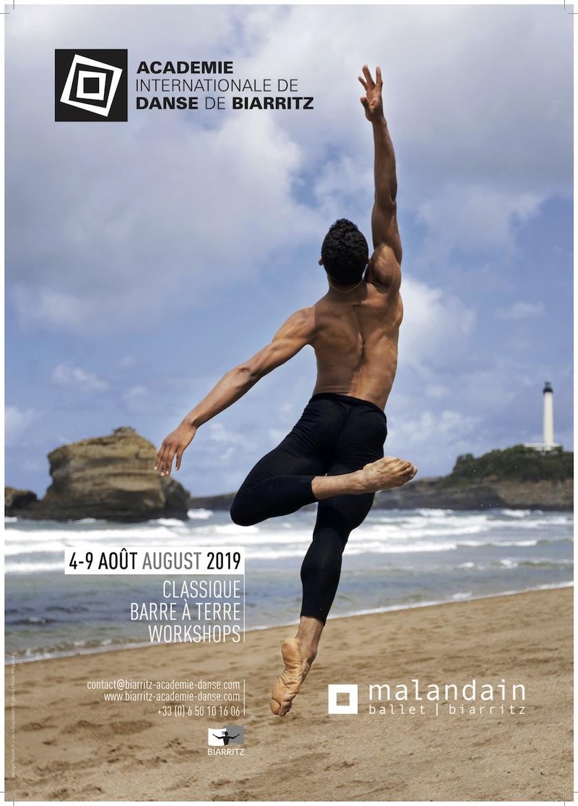 Affiche stage académie Biarritz 2019
