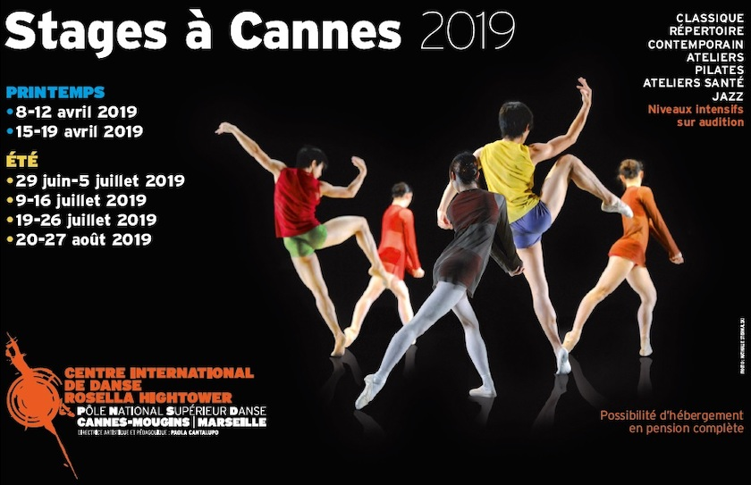 Stage danse Cannes 2019