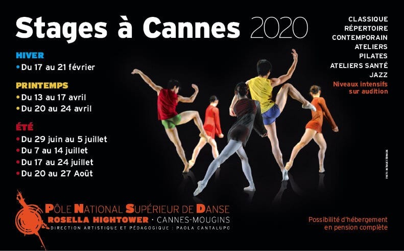 Stage danse Cannes 2020