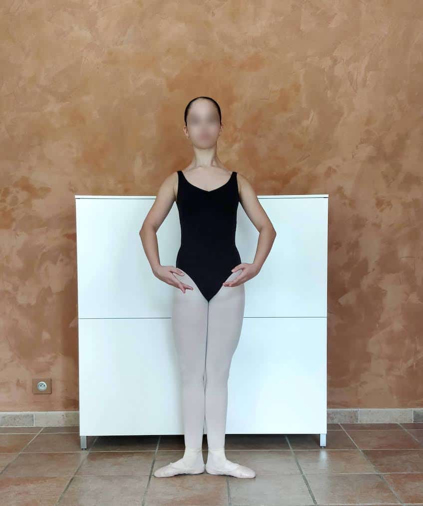 Position de danse : première
