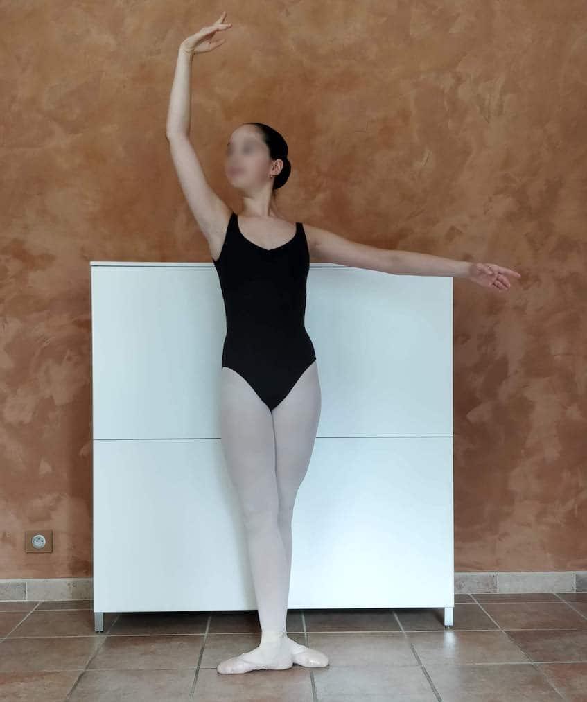 Position de danse : troisième