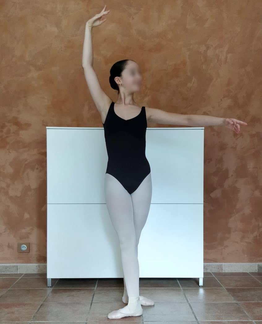 Position de danse : quatrième