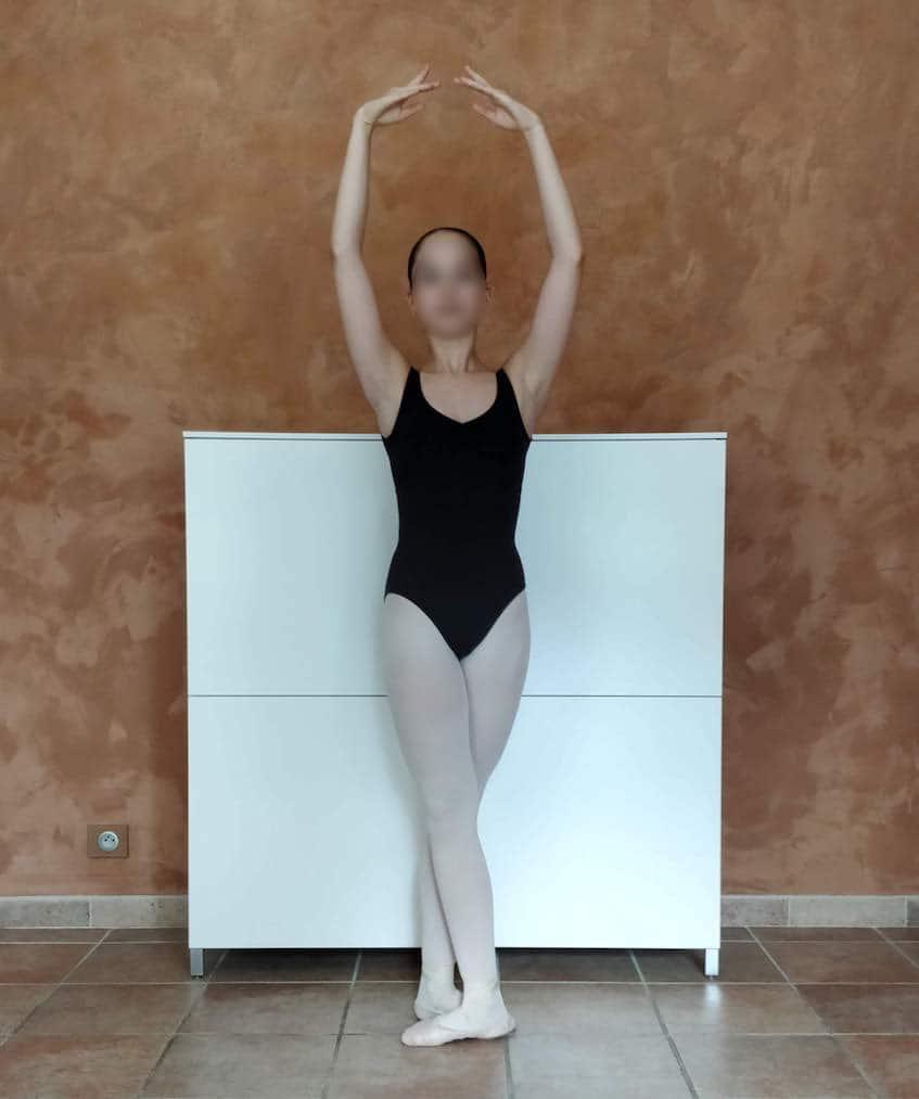 Position de danse : cinquième