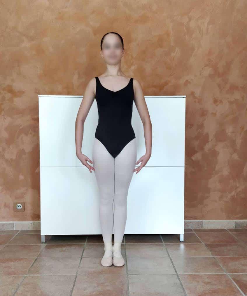 Position de danse : sixième