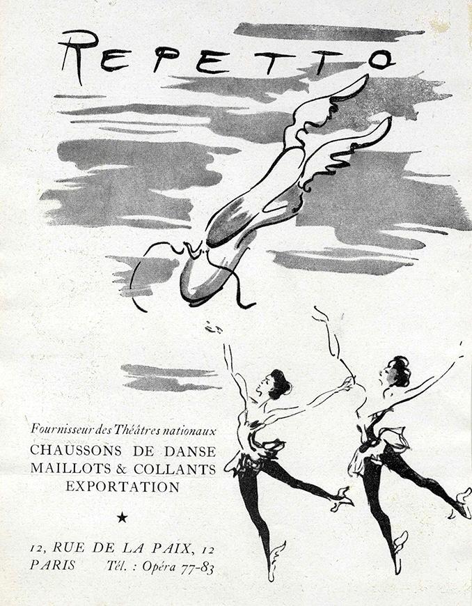 Publicité Repetto 1952