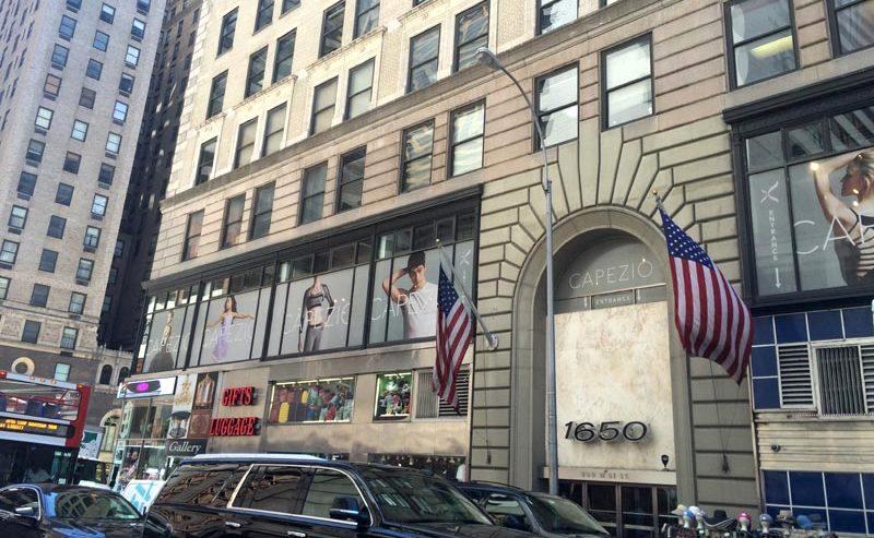 Boutique Capezio New-York