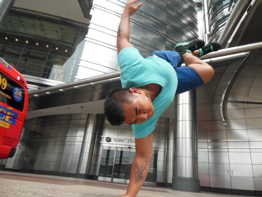 Olivier Vathananonh breakdance