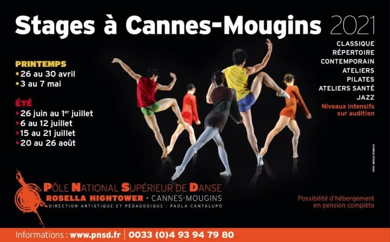 Stage danse Cannes 2021