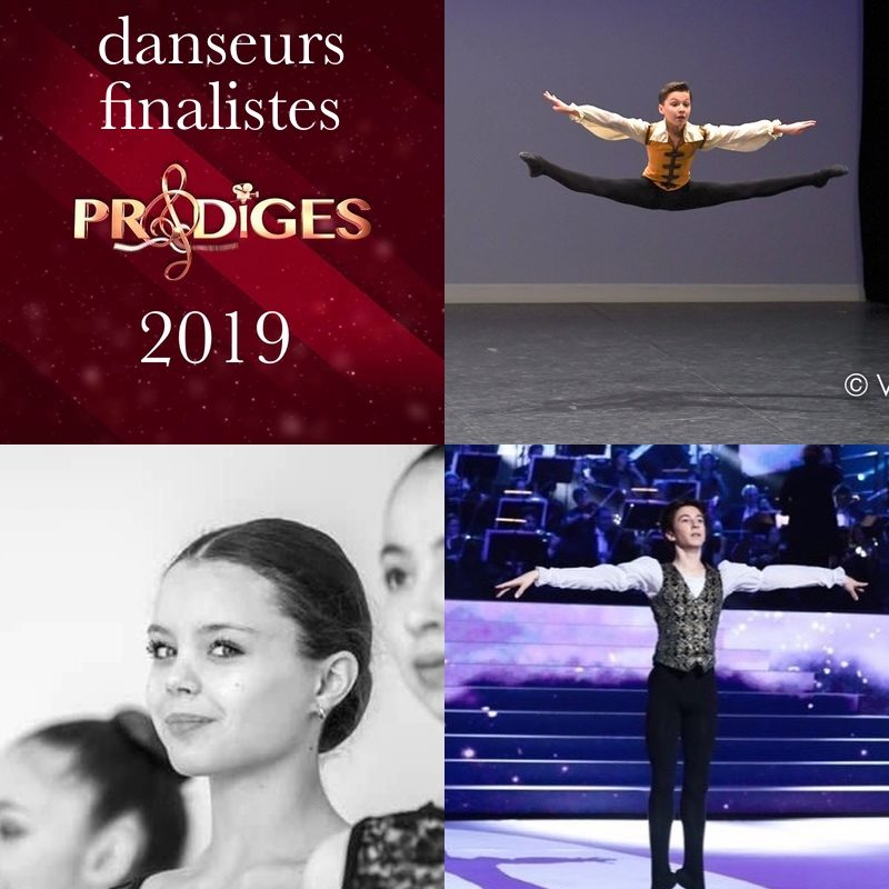 Finalistes danse Prodiges 2019