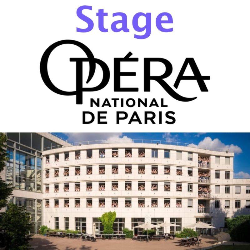 Stage à l'école des Petits rats de l'Opéra de Paris