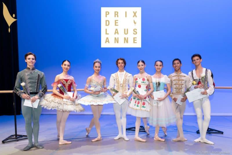 Lauréats Prix Lausanne 2020