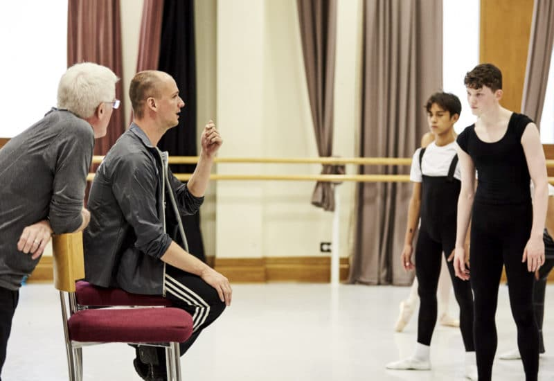 Cours garçons stage Royal Ballet School Londres