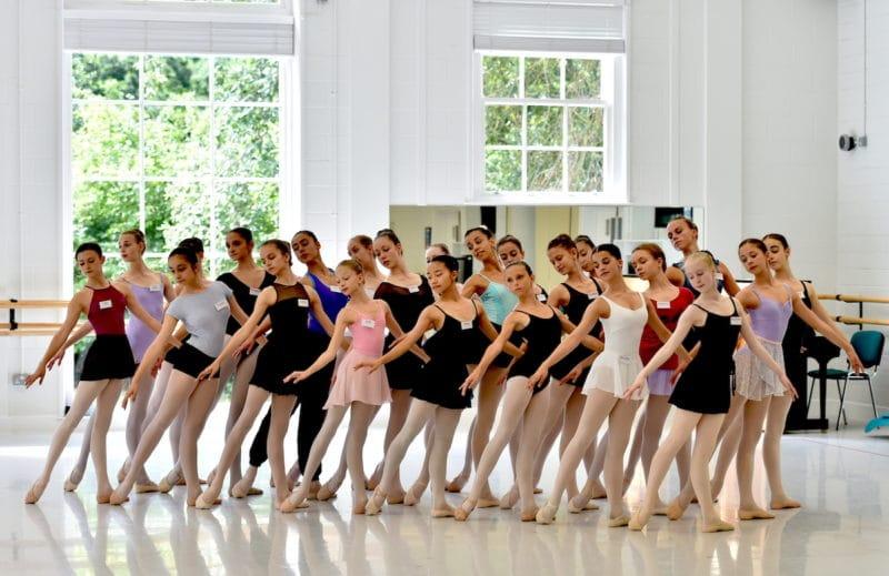 Stage d'été au Royal Ballet School : White Lodge