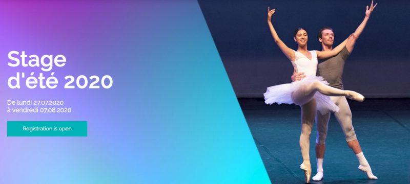 Stage été 2020 Brussels International Ballet