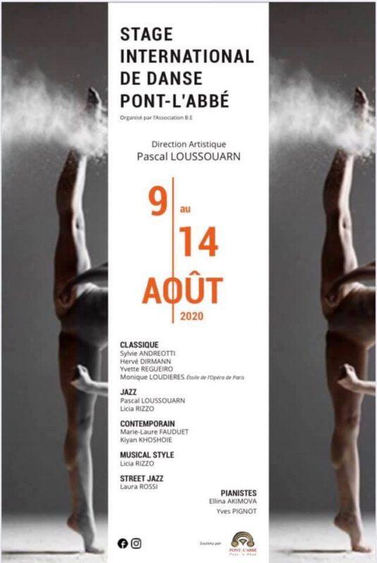 Stage International de danse de Pont L'Abbé 2020