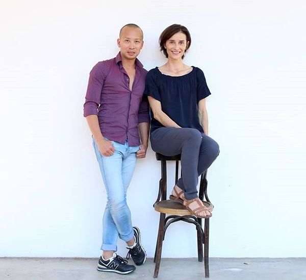 Minh Pham et Emmanuelle Broncin
