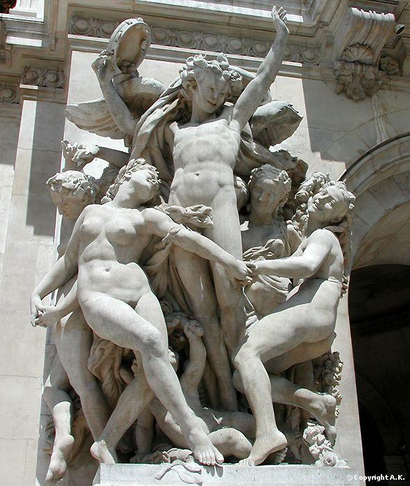 statues Danse Carpeaux