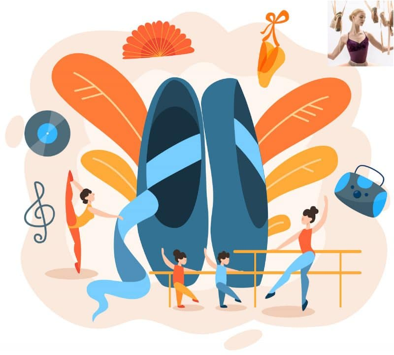 Cours de danse classique via Internet