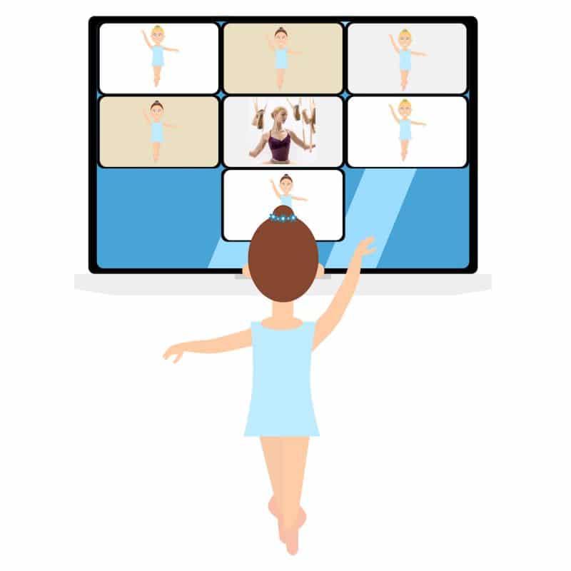 Cours de danse en VOD