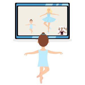 Cours de danse classique par webcam