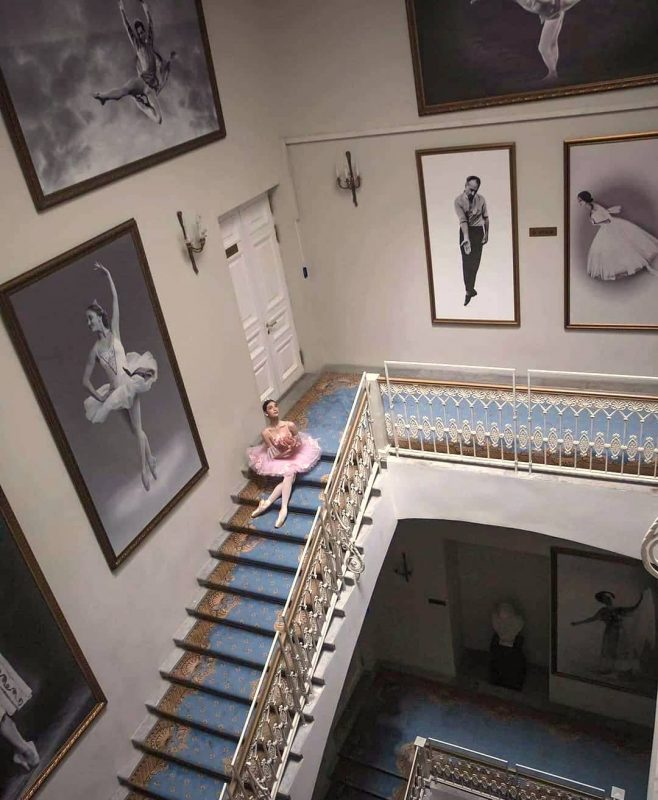 Escalier à Vaganova Academy