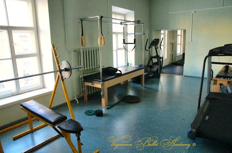 Salle de fitness à Vaganova