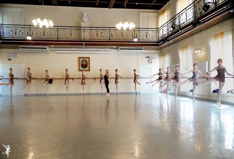 Studio Petipa à l'Académie Vaganova