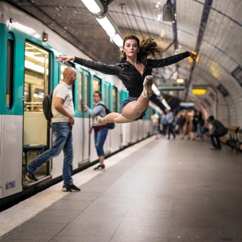 Brittany Cavaco métro Paris