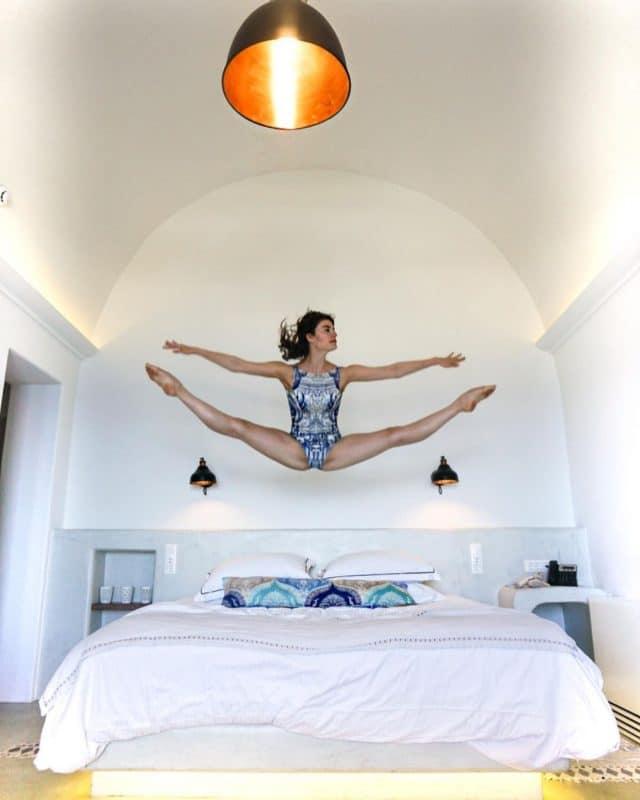 Brittany Cavaco, été 2019 en Grèce