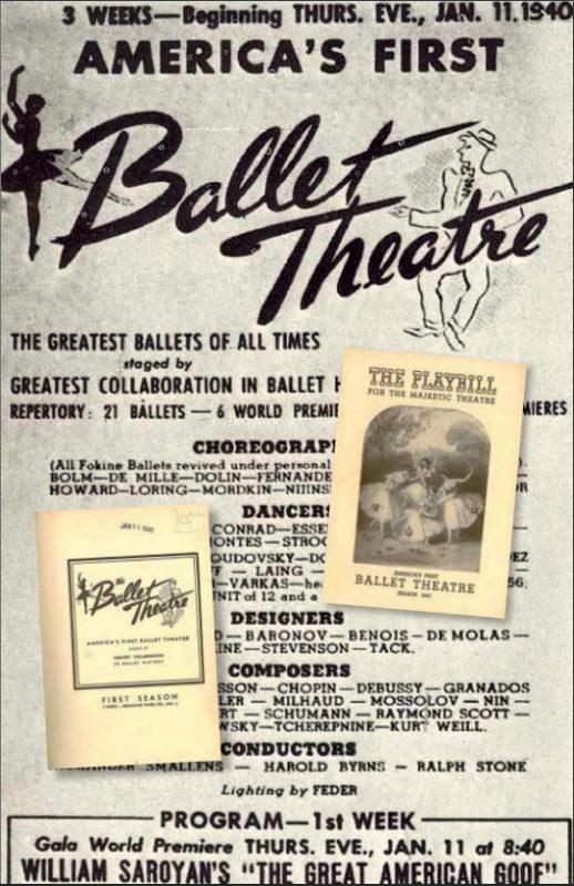 Ballet Theatre en 1940