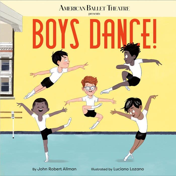 Livre Boys dance de l'ABT