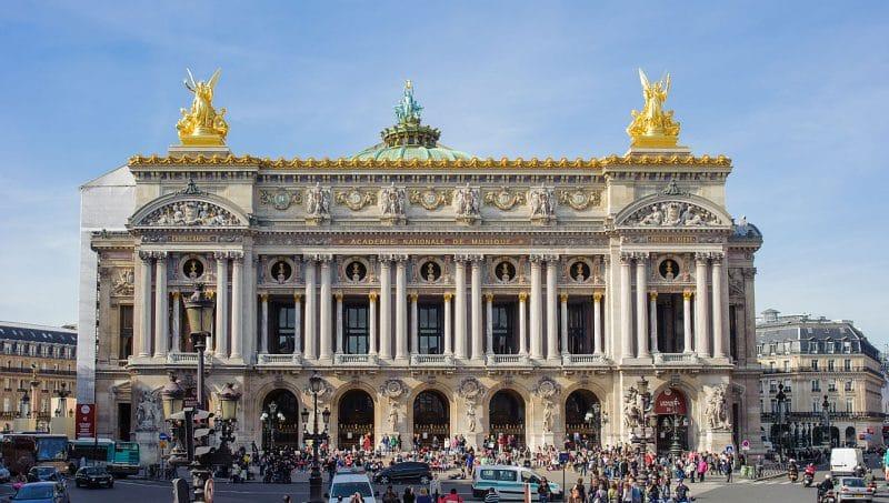 Le Palais de l'Opéra Garnier