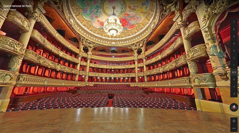 Salle de l'Opéra Garnier à Paris