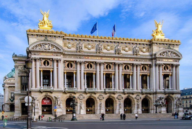 L'Opéra Garnier, place de l'Opéra à Paris