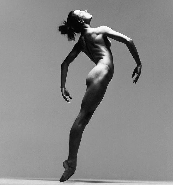 Sylvie Guillem totalement nue