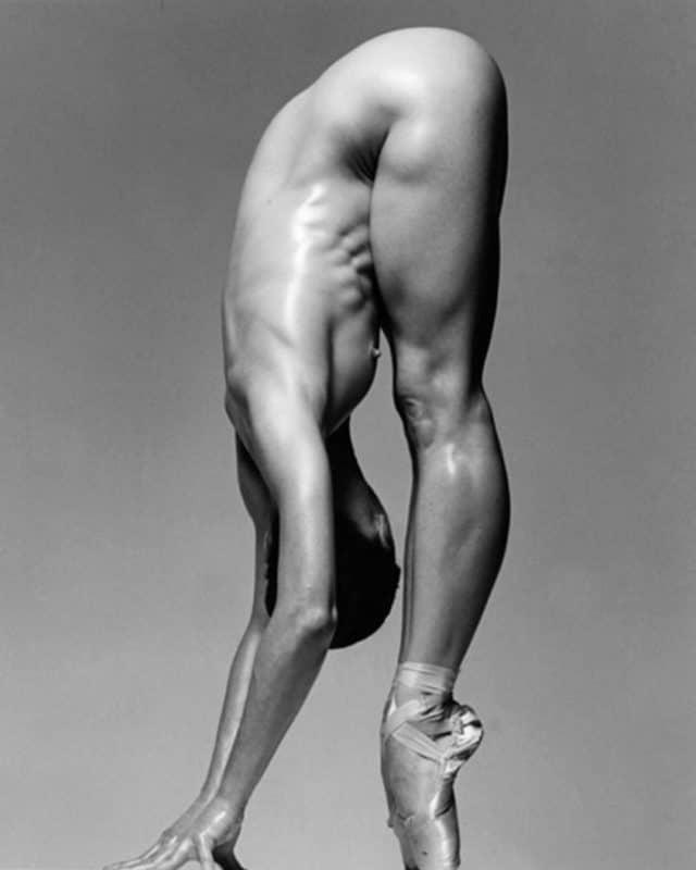Sylvie Guillem nue en chaussons de pointes