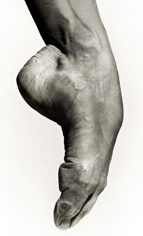 le cou de pied de Sylvie Guillem